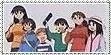 Azumanga Daioh Stamp by KarToon12