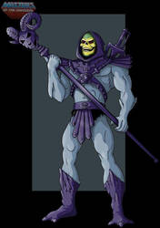 Skeletor by KarToon12