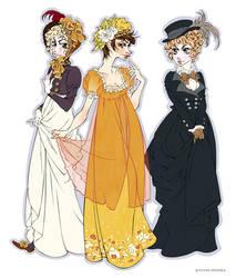 1800's Dresses by Seitou
