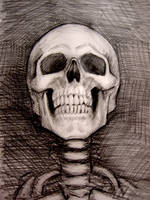 Skeletal Portrait by myconius