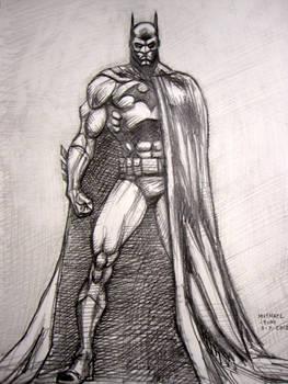 Batman (after Jim Lee) by myconius