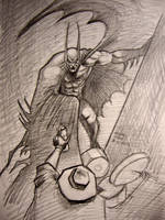Judgement on Gotham: Batman vs Scarecrow by myconius