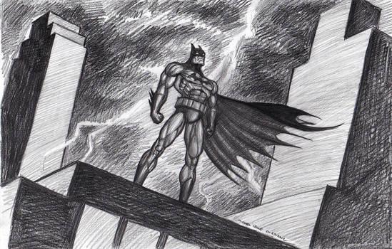 Batman Animated 11-27-2012 by myconius