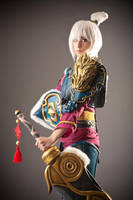 Dragonblade Riven Cosplay_League of Legends by CCubeCosplay