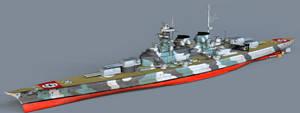 H-Class Battleship by 1Wyrmshadow1