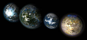 Jovian Moons by 1Wyrmshadow1