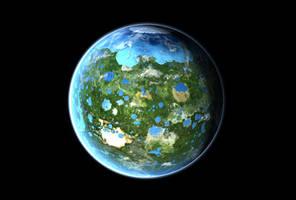 Ceres Terraformed by 1Wyrmshadow1