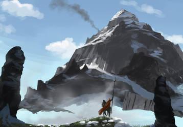 Smoke from the mountain. by HetNoodlot