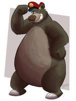 Smug Baloo by BenJJedi
