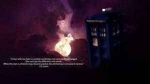 TARDIS - Night Sky by Evil-Policeman