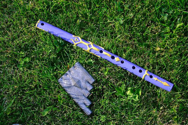 Master Sword flute #2 and the Oot Panflute by dekuNukem