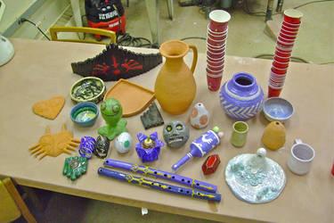 Ceramics: first four months. by dekuNukem