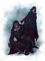 Assassin's Creed Syndicate - Jacob and Evie Frye by BrokenNoah
