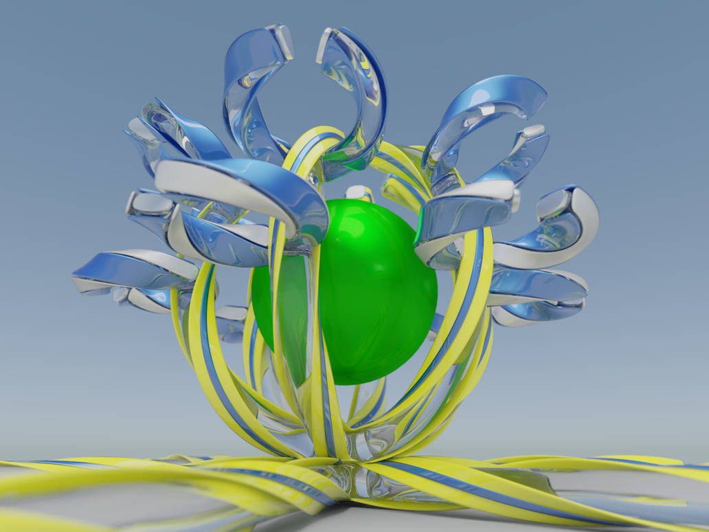 SyntheticFlower by FracTaculous3D