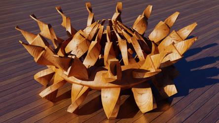 Wooden Marvel by FracTaculous3D