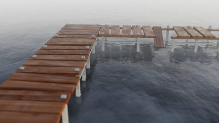 Bridge to nowhere by FracTaculous3D