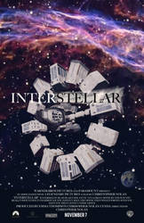 Interstellar (Original Movie Poster) by theanimationguy