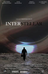Interstellar (Original Movie Poster 2) by theanimationguy