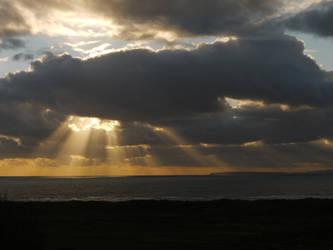 Harlech Sunset by celtes