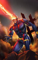 Cyclops, J. Fay by ulamosart