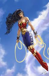 DC Wonder Woman, B. Booth by ulamosart