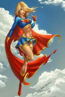 Supergirl, J. Tyndall by ulamosart