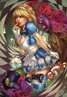 Alice in Wonderland, S. Giardina by ulamosart