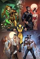 Marvel DeathofWolverine#1,pencils:J.Scott Campbell by ulamosart