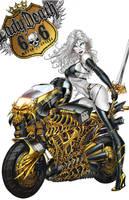 CC Lady Death: The Rapture #1, pencils: J. Tyndall by ulamosart