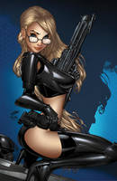 Zenescope GFT RH I Love NY#1, pencils: P. Green by ulamosart