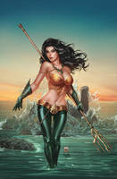 Zenescope Spirit Hunters #11E, pencils: M. Krome by ulamosart