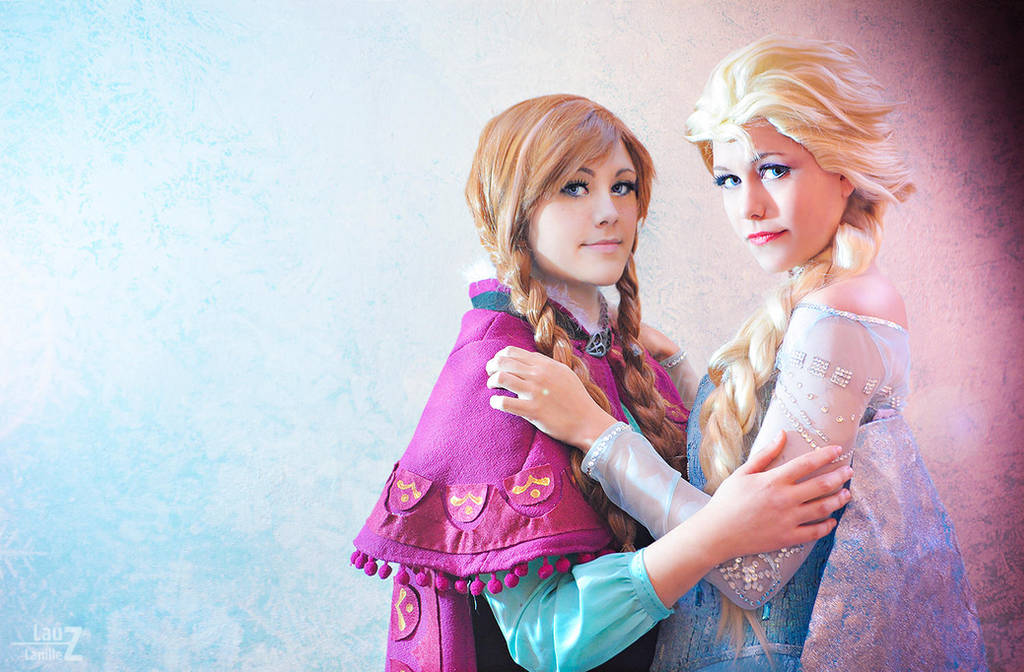 Frozen Elsa Anna By Lauzlanille On Deviantart