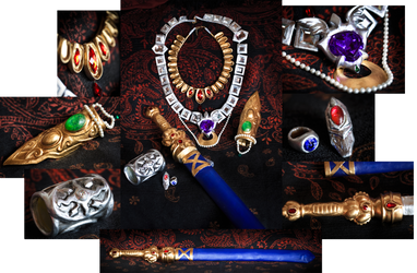 Magi - Labyrinth of Magic - Sinbad Metal Vessels by Midgard1612