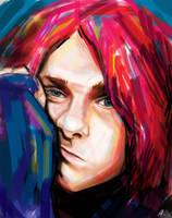 Kurt Cobain 4 by A-Kseniya
