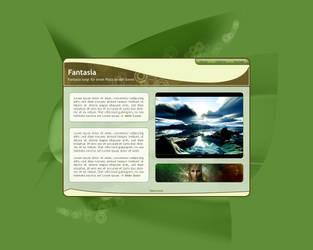 Green Portfolio by Castor-designs
