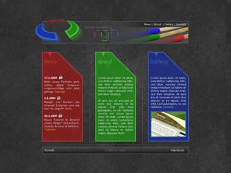 RGB Portfolio by Castor-designs