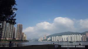 Tsuen Wan Beach by borobudur82