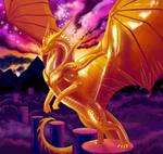 Gold Dragon by krastei