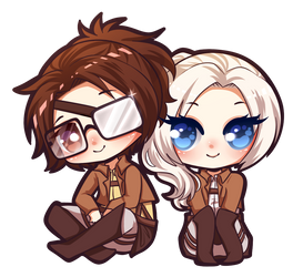chibi commission AOT by AdversusNovo