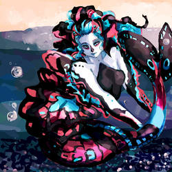 Closed Adoptable Auction: Butterfly Merwoman! by Rnxr