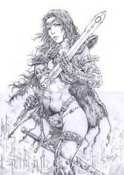 Princesa Guerreira II by ricardoafranco