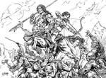 Batalha nas Montanhas by ricardoafranco