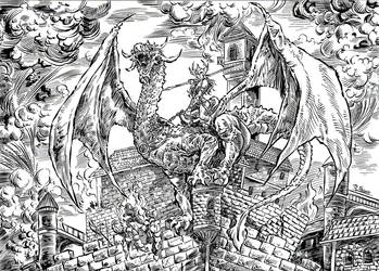 Guerreira Dragao by ricardoafranco