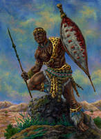 Guerreiro Zulu by ricardoafranco