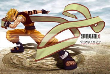 HOKAGE-NARUTO: NEW CG WIP by sundang