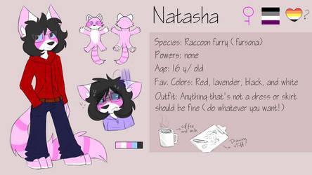 Natasha reference - 2018 by DragonBeast11