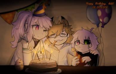 Add's birthday by DragonBeast11