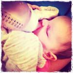 cutie baby sleeping by princessxsofia
