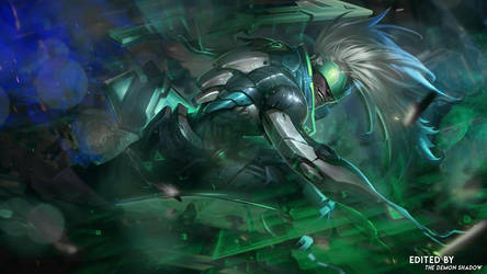 Project Ekko Wallpaper by thedemonshadow