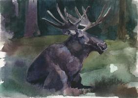 -Rorschach Moose- by RiEile
